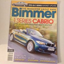 Bimmers BMW Magazine 1 Series Cabrio Z3 M Coupe May 2008 052617nonrh2