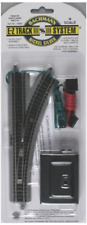 Bachmann Trains - Snap-Fit E-Z TRACK  REMOTE TURNOUT - RIGHT 1/card - NICKEL - N