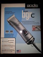 NEW Andis Ceramic BGRC Clipper Professional Detachable Blade Hair Clipper #63965