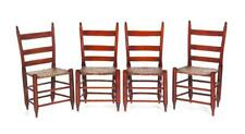 Four American Ladderback Side Chairs. Lot 491