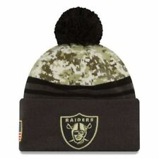 NEW ERA NFL Salute To Service Mütze Beanie Oakland Raiders *NEU* One Size