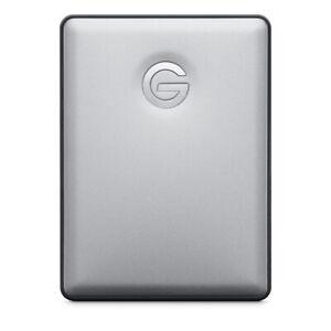 1TB Hard Drive USB-C | Portable G-Technology G-Drive HD | Gray MAC PC USA FAST