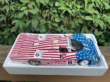 Minichamps Porsche 956L1986 Spirit of America Stars & Stripes Joest Racing 1/18