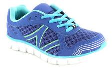 Scarpe Blu sintetico con lacci per bambine dai 2 ai 16 anni
