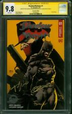 Batman Shadow 1 CGC 3XSS 9.8 Finch Orlando Con Foil Variant Patterson new Movie