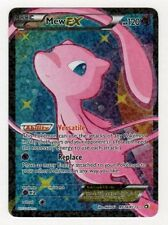 MEW EX RC24/RC25 Ultra Rare Star FULL ART Pokemon Holo Foil Card! Legendary!