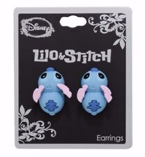 Disney LILO & STITCH BITING POST-INSERTION STUD EARRINGS Officially Licensed