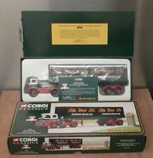 CORGI CLASSICS 14303 - EDDIE STOBART FODEN S21 WITH TRAILER AND 2 CONTAINERS
