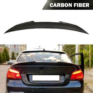 Fits BMW E60 525i 530i 540i 550i M5 2004-10 Rear Trunk Spoiler Wing Carbon Fiber