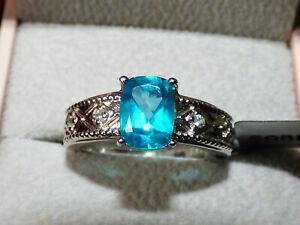 Brazilian Blue Batalha Topaz Ring