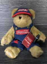 "Boyds Bears Coke Coca Cola Cracker Barrel Exclusive 12"""