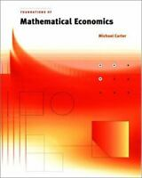 Foundations of Mathematical Economics [The MIT Press]