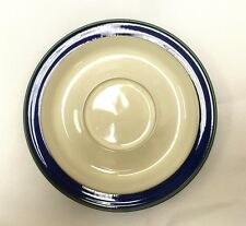 Denby Metz Tea Saucer Blue/White- Brand New With Tags - Discontinued Item