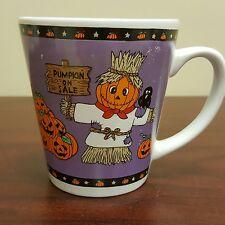 Halloween Pumpkin For Sale Jack-o-latern Coffee Mug Purple