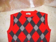 maglione senza maniche donna Roberta PUCCINI tg.44 in lana/angora/nylon.