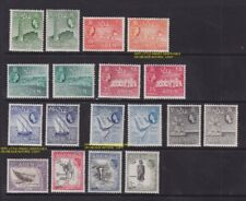 1953 - 1959 ADEN LOT QUEEN ELISABETH MINT NH , VERY LITTLE HINGED SHADES 83.5US$