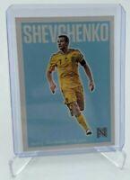 2017 PANINI NOBILITY SOCCER ☆ ANDRIY SHEVCHENKO ☆ UKRAINE ☆ BASE LIGHT BLUE #37