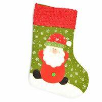 Christmas Traditional Santa Medium Stockings Sock Xmas Garden Event Supply