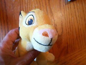 "DISNEY The Lion King SIMBA Stuffed Plush by Just Play 6.5"""
