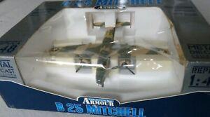 Franklin Mint Metall / Plastik Flugzeugmodell  1 : 48 - B 25 Mitchell , USAF