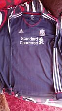 Liverpool FC Camisa Manga Larga Distancia Adidas 3XL