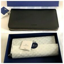 Swarovski Crystal Black Leather Ladies Purse Original Wrapping & Box RRP £139.0
