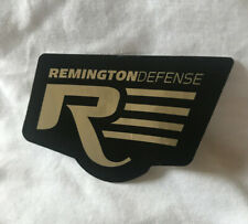 Remington Sticker / Decal Black and Silver Remington Defense Sticker