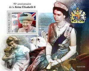 Guinea - 2021 Queen Elizabeth II Anniversary - Stamp Souvenir Sheet - GU210135b