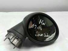 DRIVERS WING / DOOR MIRROR - Mini Cooper 2007 To 2014 BLACK & WARRANTY  11111222
