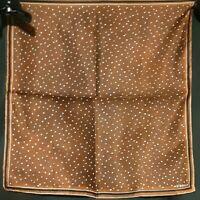 Vintage 1940's Silk Vera Neumann Scarf w/ Bubbles (17 x 17)