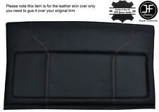 WHITE STITCH PARCEL SHELF LEATHER COVER  FITS VW GOLF MK2 II JETTA 83-92