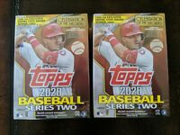 (2) 2020 Topps Series 2 Blaster Box ~ ALONSO Insert ~ LUIS ROBERT RC? ~ PSA