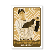 2017 Topps Heritage High Number 5 x 7 Rookie Performer Set Aaron Judge #'d 6/10