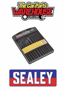 Sealey S0802 Punch & Chisel Set 12pc 12 Pieces Hardened and tempered
