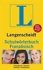 Langenscheidt Schulwörterbuch Französisch (2009, Kunststoffeinband)