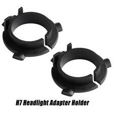 2Pcs H7 LED Kit Headlights Base Adapter Car LED Clip Retainer Sockets Adaptor SE