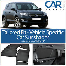 Toyota Rav4 5dr 2006-13 UV CAR SHADE WINDOW SUN BLINDS PRIVACY GLASS TINT BLACK