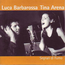 CD Single Tina ARENA & Luca BARBAROSSA	Segnali di fumu PROMO 2-Track CARD SLEEVE