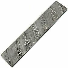 Aa10 inches Custom Handmade Damascus Steel Blank Billet For Knife Making