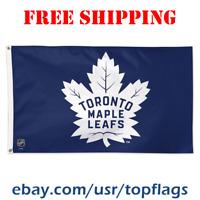 Deluxe Toronto Maple Leafs Logo Flag Banner 3x5 ft 2019 NHL Hockey Fan Gift NEW
