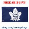 Deluxe Toronto Maple Leafs Logo Flag Banner 3x5 ft 2019 NHL Hockey Fan Gift NEW