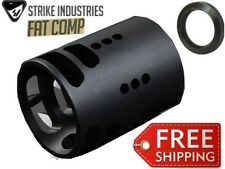 Strike Industries FAT 02 Comp Compensator 556/22cal/223 Large Muzzle Brake 1.5""