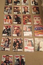 ROLLING STONE MAGAZINE LOT OF 26, 2014 2015 ISSUES, GREAT CONDITION