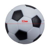 10pcs 32mm Calcio Calcio Balilla Calcio Balilla Fussball XxBHQ
