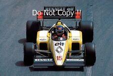 Patrick Tambay Renault RE50 Monaco Grand Prix 1984 Photograph 1