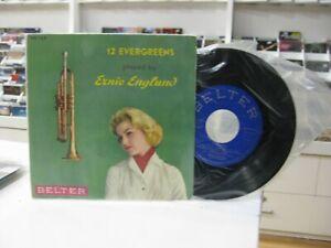 """ERNIE ENGLUND 7"""" EP SPANISH 12 EVERGREENS 1959"""