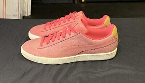 Puma Suede Deco Lace Up  Mens  Sneakers Shoes Casual Sz US 8