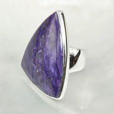 Charoit Ring, 925er Silber, Edelsteinring (21742), Edelsteinschmuck