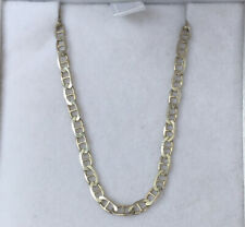 Sterling silver Flat Mariner / Anchor chain necklace EUC!!