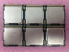 (Lot of 6) Intel Core i5-760 2.80GHz Quad-Core CPU SLBRP LGA1156 - CPU349